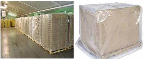 Pallet Covers from PolyKing
